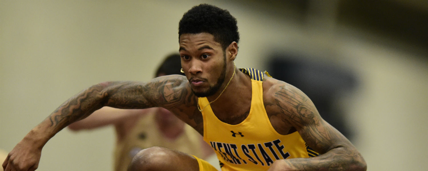Kent State's William Barnes will compete in the first round of the men's 110m hurdles on Monday, Aug. 15.