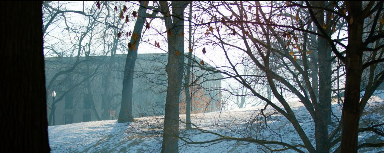 Winter at Kent State