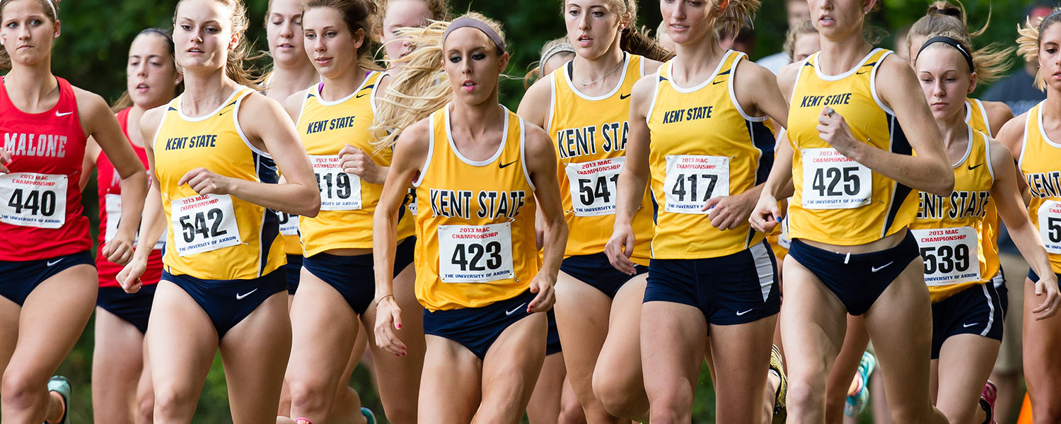 Kent State's women's cross country program is one of five Kent State athletic programs to be recognized by the NCAA with a Public Recognition Award for outstanding academic performance.