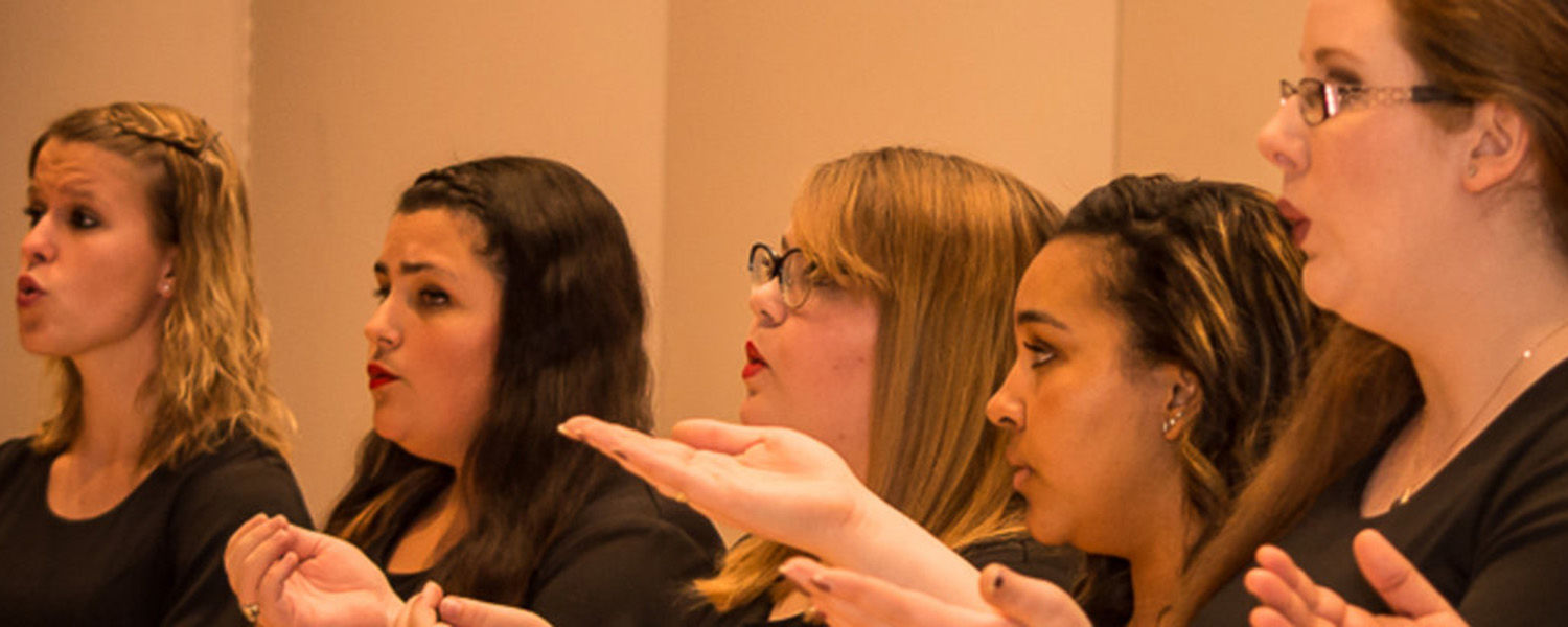 Kent State University Women's Chorus has grown to nearly 70 members this year.