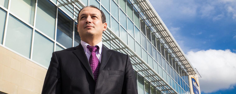 Award-winning researcher, Dr. Haithem Zourrig