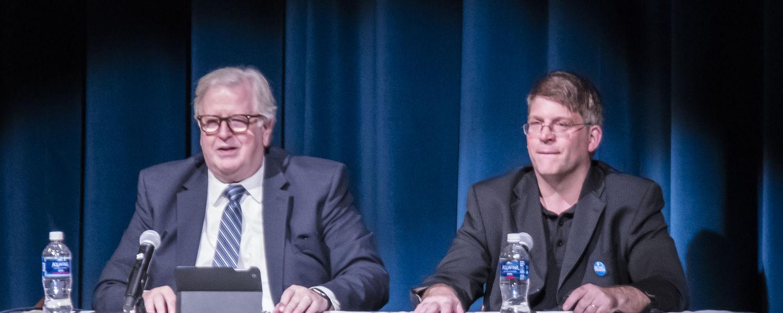 Gene Policinski (left) and David L. Hudson, Jr.