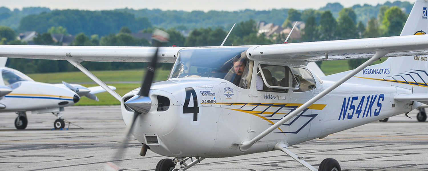 Kent State's fleet includes this airplane.