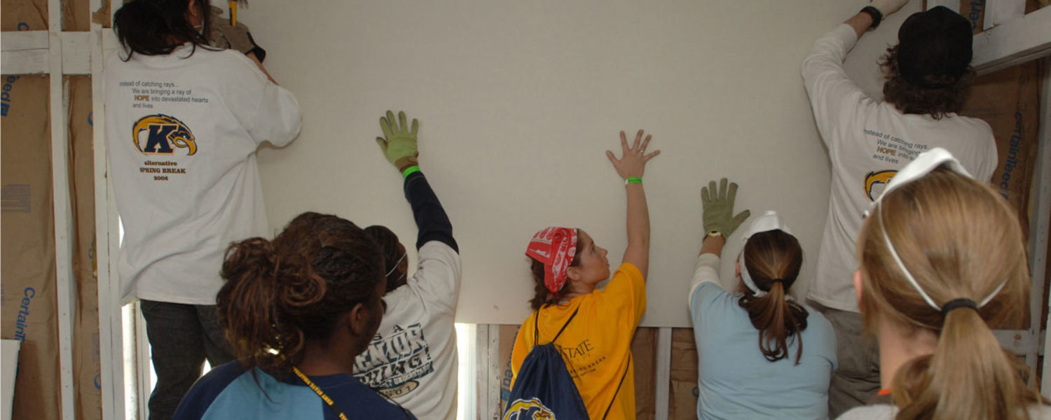 Kent State offers alternative spring break trips for experiential learning