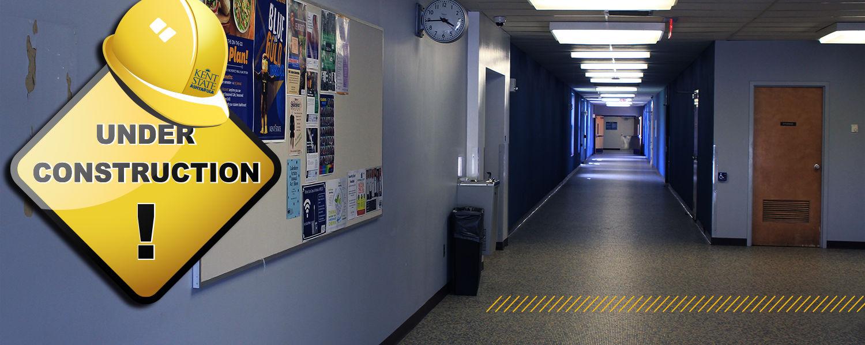 Ashtabula Main Hall B-Wing Corridor