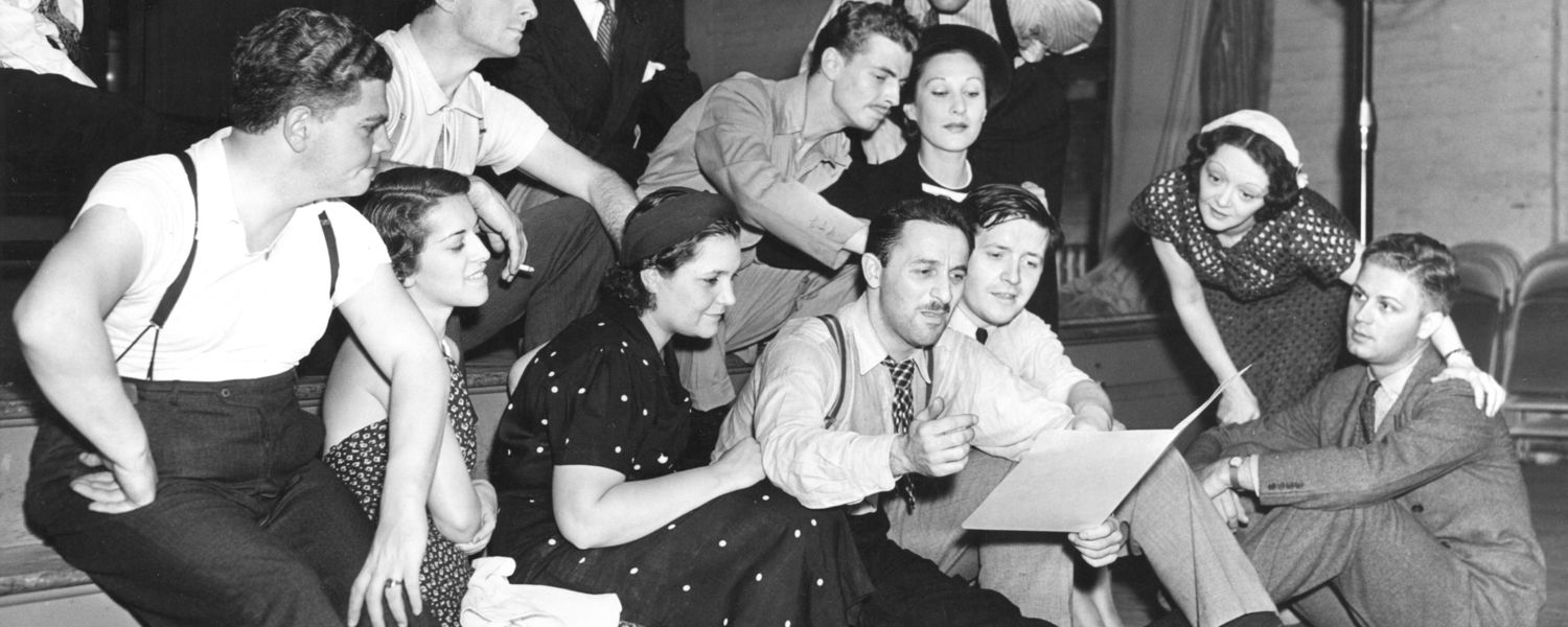 Marc Blitzstein and Original 1937 Cast of The Cradle Will Rock (The Kurt Weill Foundation for Music)