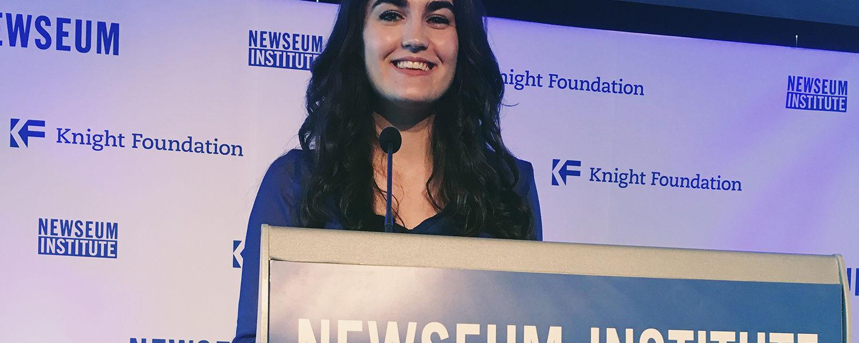 Brenna Parker, Newseum