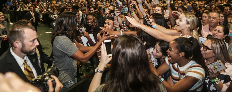 Michelle Obama event