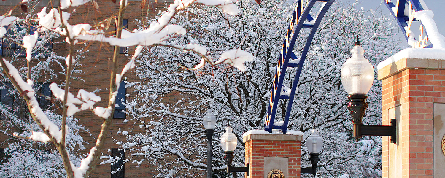 Kent State is closed from December 24th to January 1st for Holiday Break