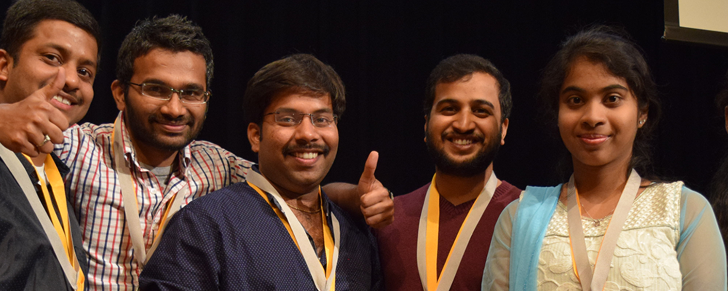 Team India celebrates its second place finish and People Choice award