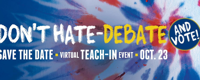 Don't Hate-Debate