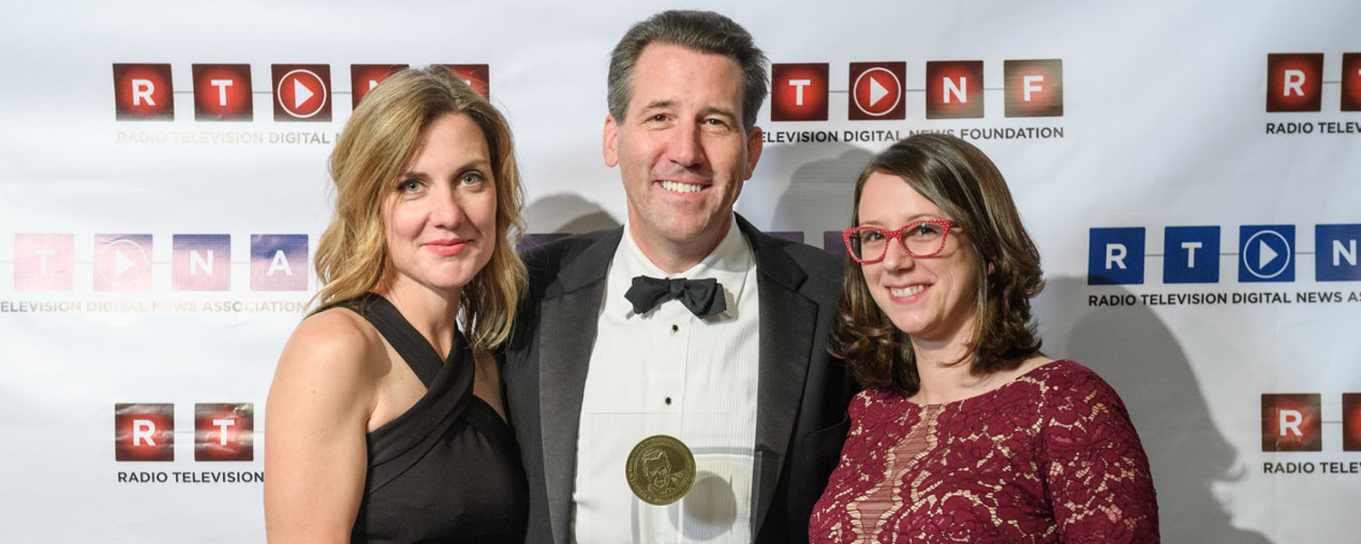 """Alumnus Vince Duffy and fellow Michigan Radio staff received the Murrow Award for """"Not Safe to Drink,"""" a documentary about the Flint Water Crisis"""