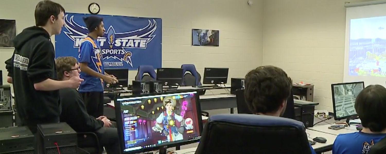 Kent State Trumbull eSports Team Thunderbirds