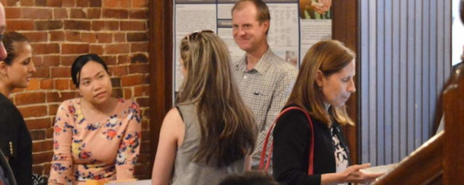 LaunchNET's Expo and Awards at Ray's Place drew a crowd