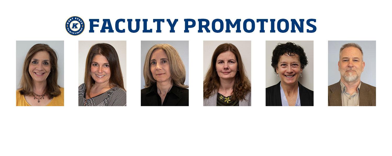 Headshots of faculty members