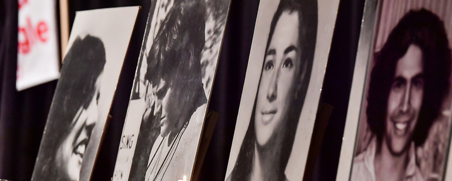 The four students killed on May 4, 1970