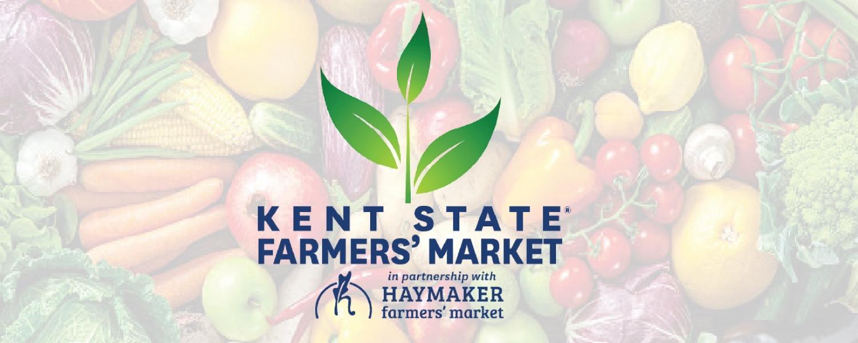Kent State Farmers' Market in partnership with Haymaker Farmers' Market