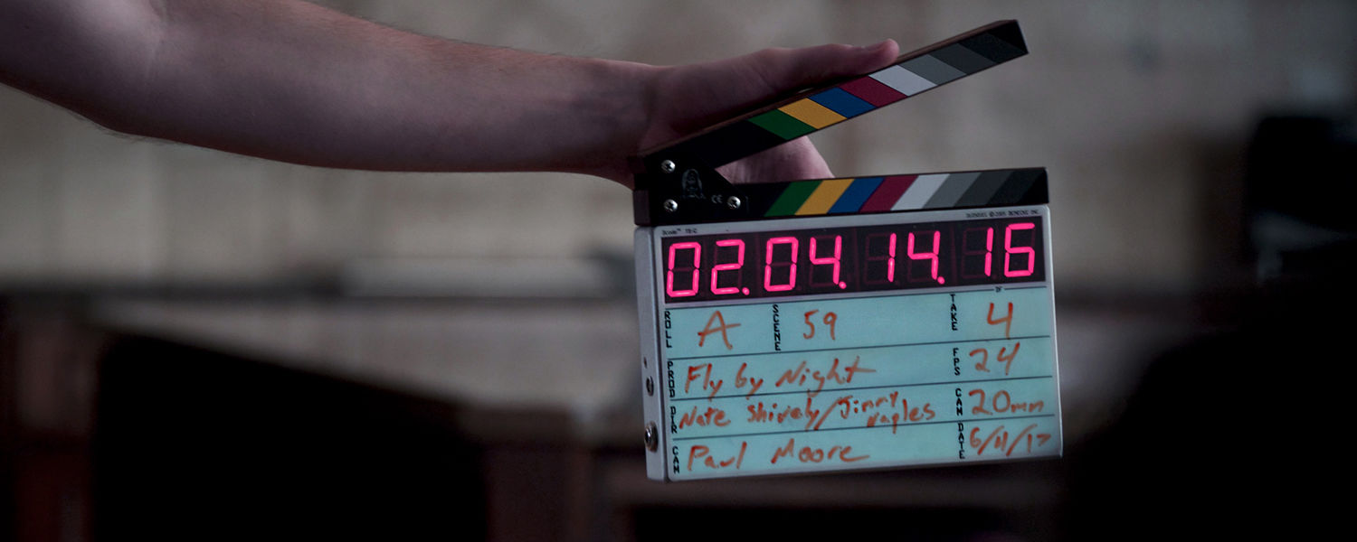 Clapperboard, Fly By Night