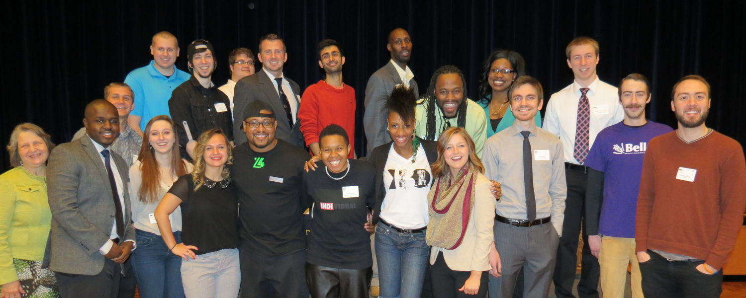 Pictured are some of the award recipients at the first Kent State University Blackstone LaunchPad Recognition Breakfast and Student Expo that took place on April 1.