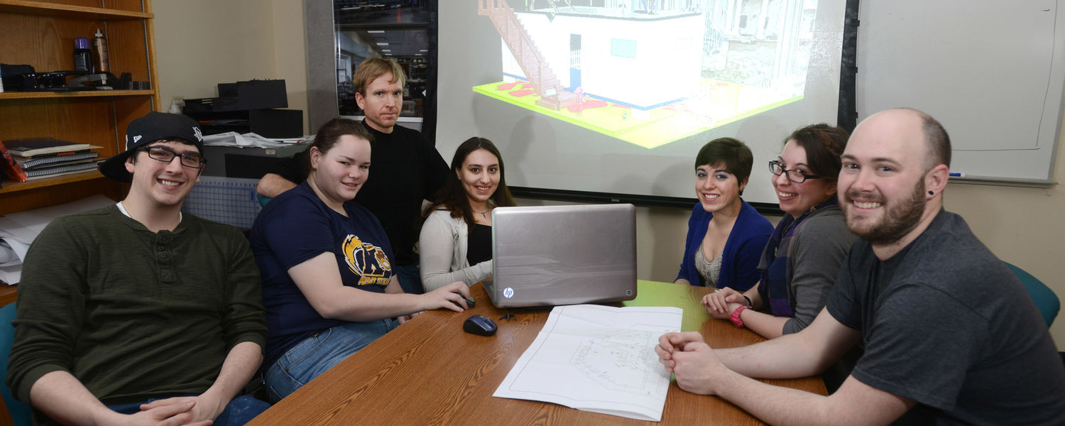 A team of Kent State University theatre students is one of 10 finalists in the contest to design  the United States National Exhibit for the 2015 Prague Quadrennial of Performance Design.