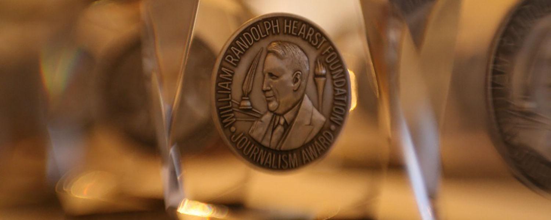 photo of Hearst award