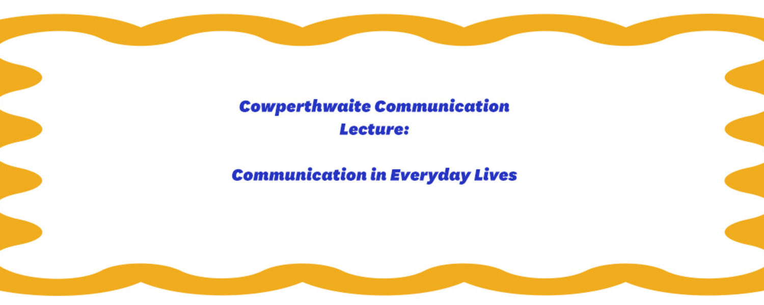graphic for comm studies lecture
