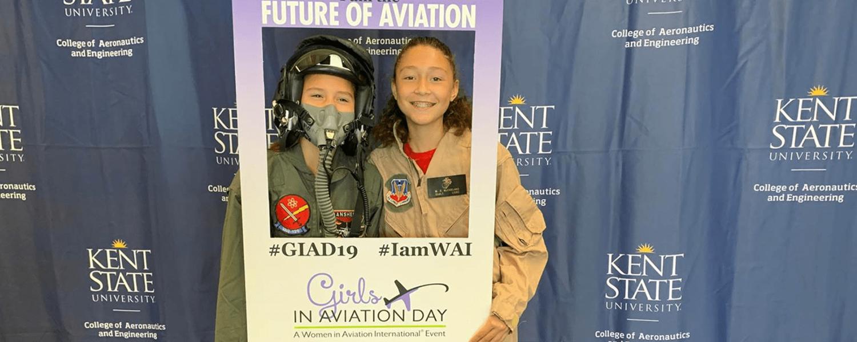 Girls in Aviation Day at the FedEx Aeronautics Academic Center