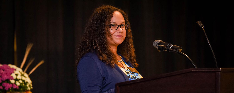 Ashtabula campus director of enrollment management and student services Amanda Dolan, Ph.D.