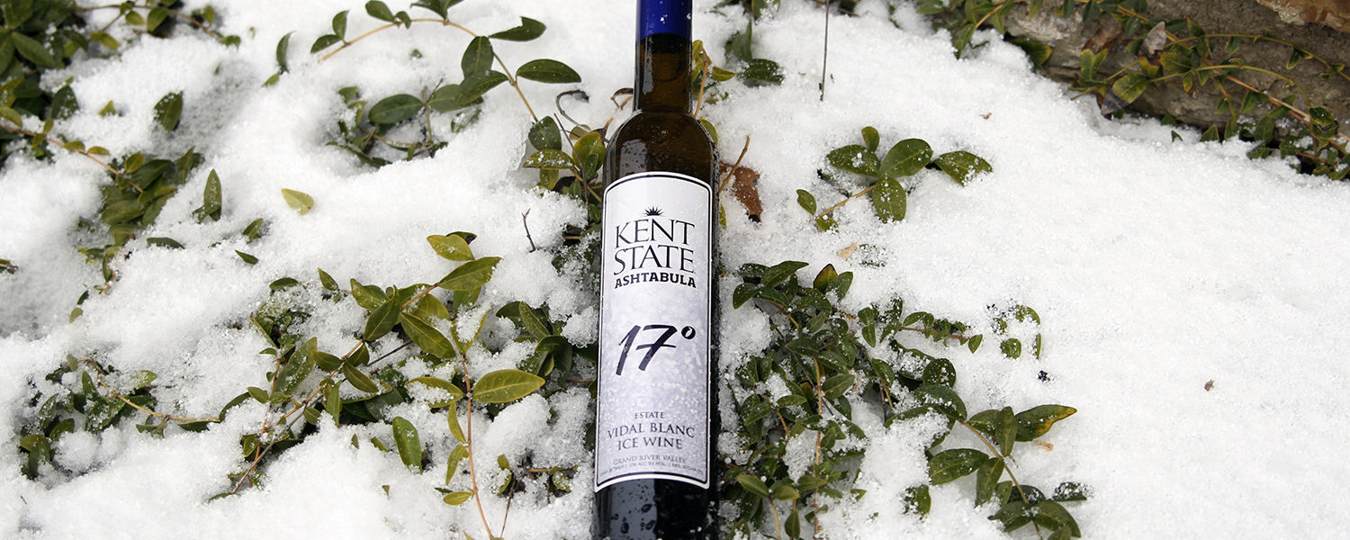 Kent State Ashtabula Wines is releasing its new wine, 17° (Seventeen Degrees), through its partnership with Laurello Vineyards.
