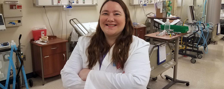 Ashtabula Respiratory Therapy Clinical Director Amy Rodenhausen