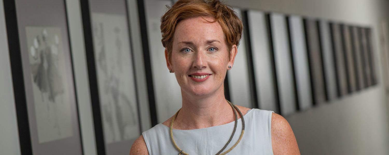 New director Louise Valentine, Ph.D.