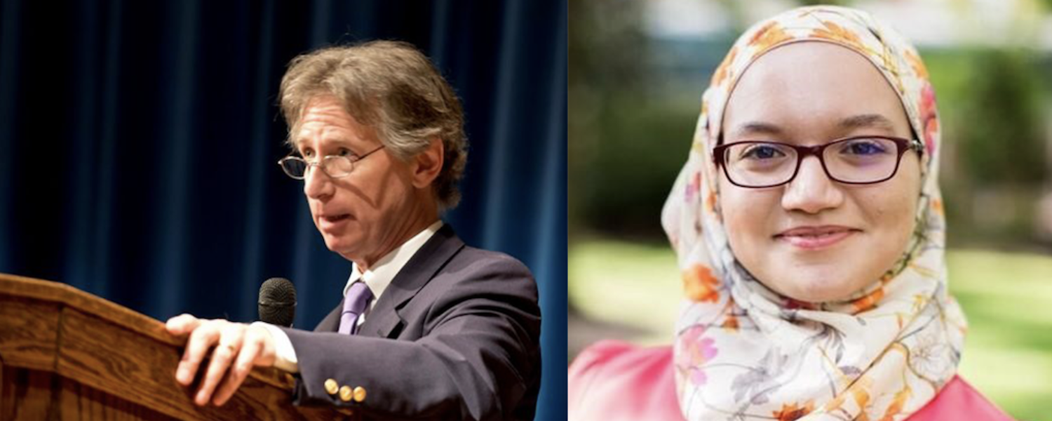 Thomas Grace and Sara Abou Rashed will speak at Kent State's 2019 Educators Summit.