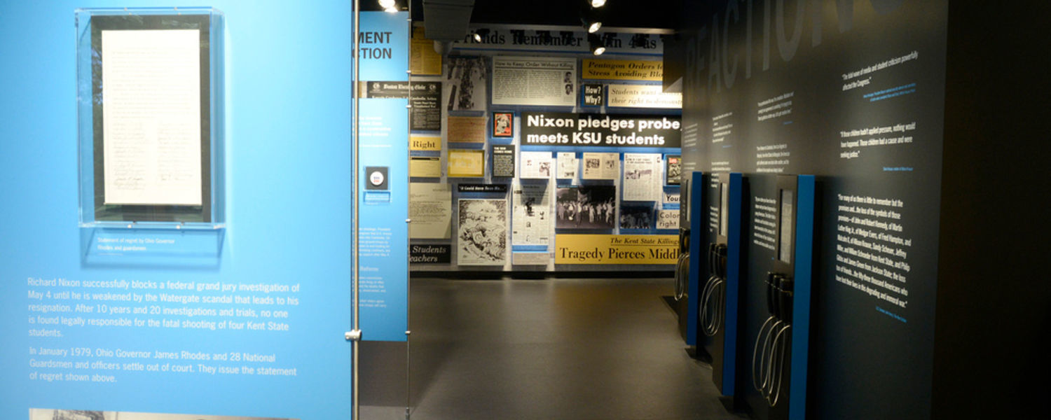 Kent State University is offering a community course at the May 4 Visitors Center that deals with the historical, cultural, social and political contexts of events before, during and after the May 4, 1970, shootings.