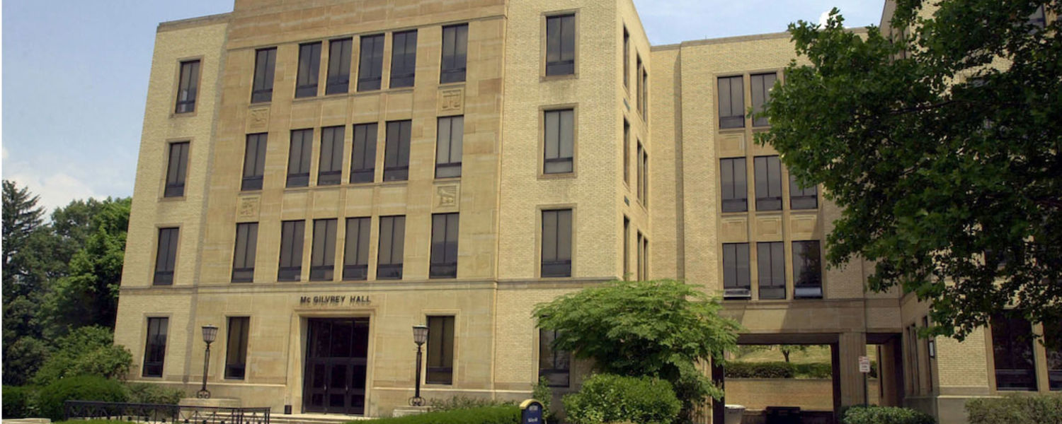 Kent State's Ohio Employee Ownership Center Office is located in McGilvery Hall.