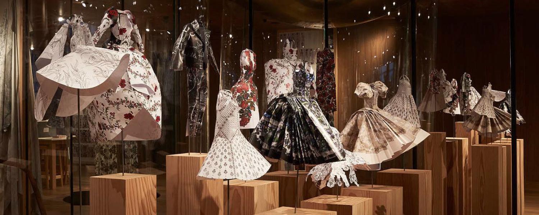 Alexander McQueen Paper Dolls in the McQueen Atelier (Photo courtesy of Alexander McQueen).
