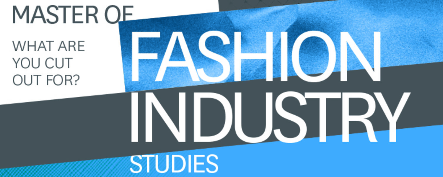 MASTER OF FASHION INDUSTRY STUDIES BANNER LOGO