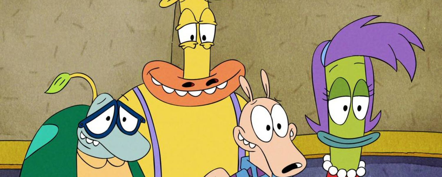 "Characters from ""Rocko's Modern Life: Static Cling"""