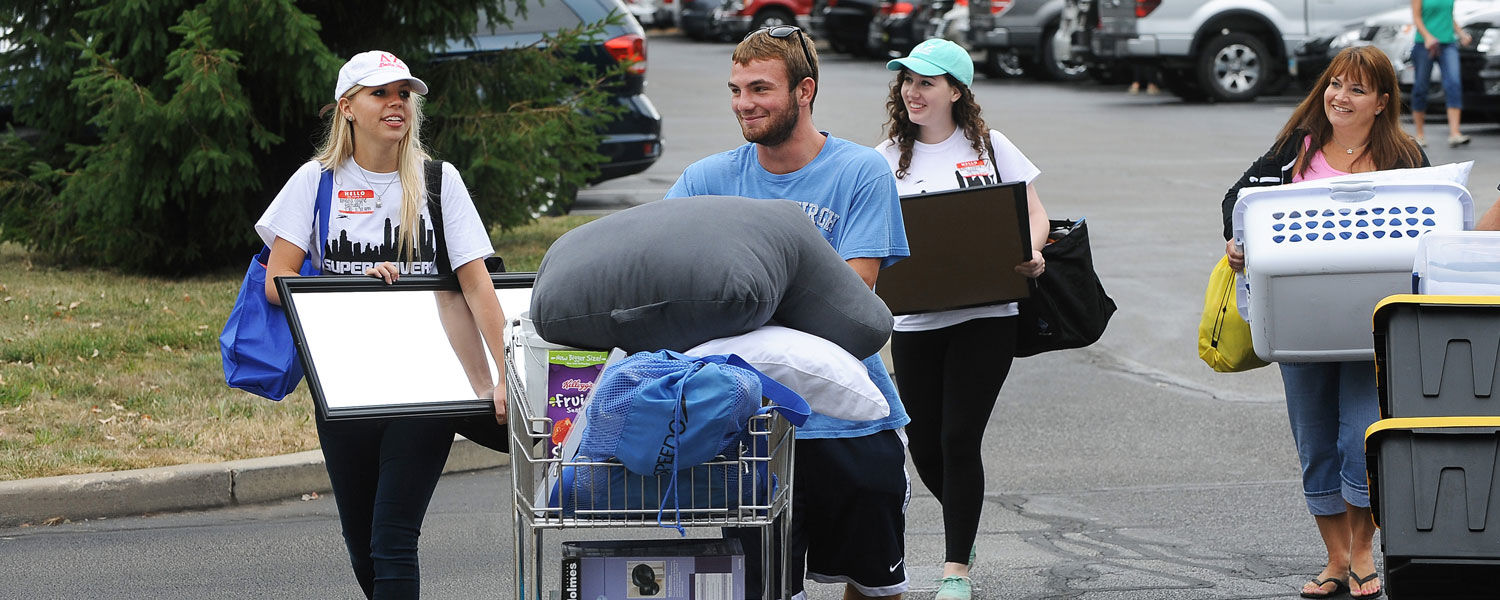 More than 500 Kent State University volunteers are preparing to welcome incoming freshmen to the Kent Campus tomorrow morning.