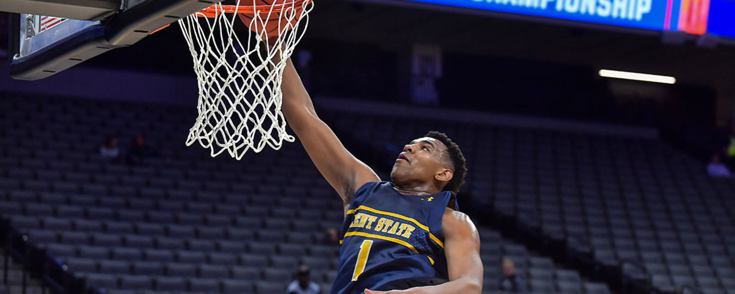Kent State Preps for NCAA Tournament Game During Practice Session