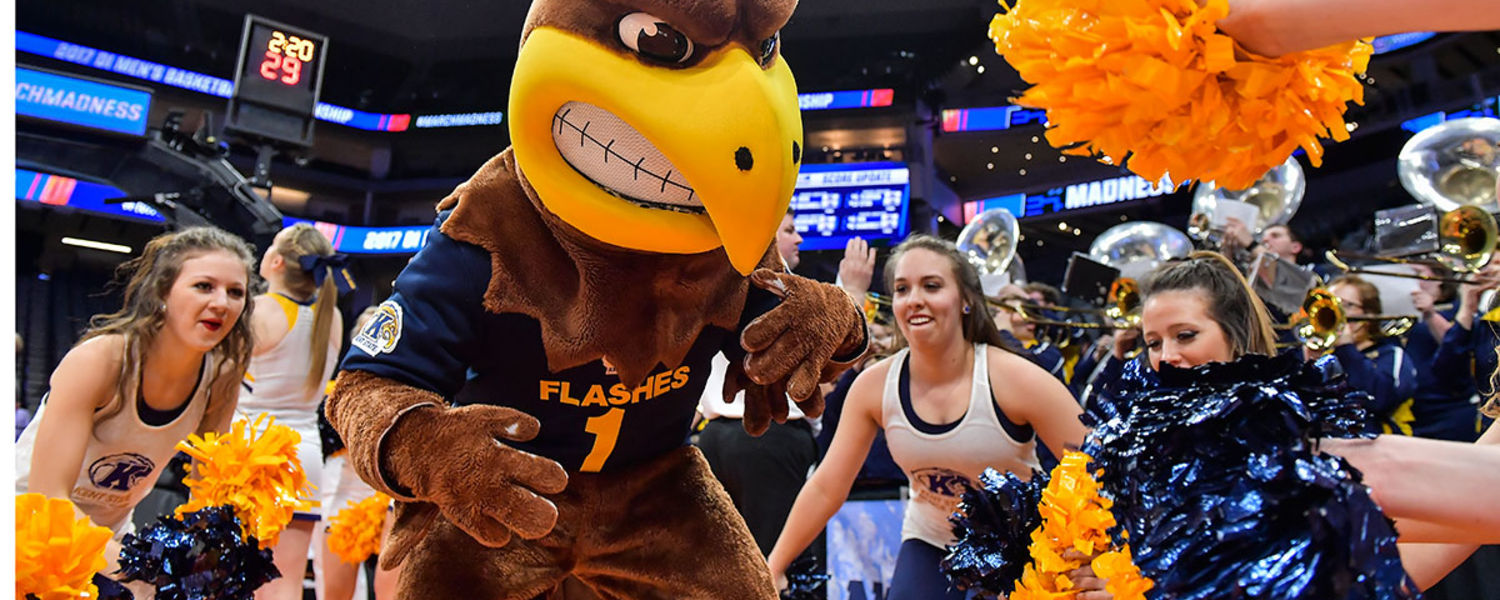 Kent State Gets Fired up for the NCAA Tournament