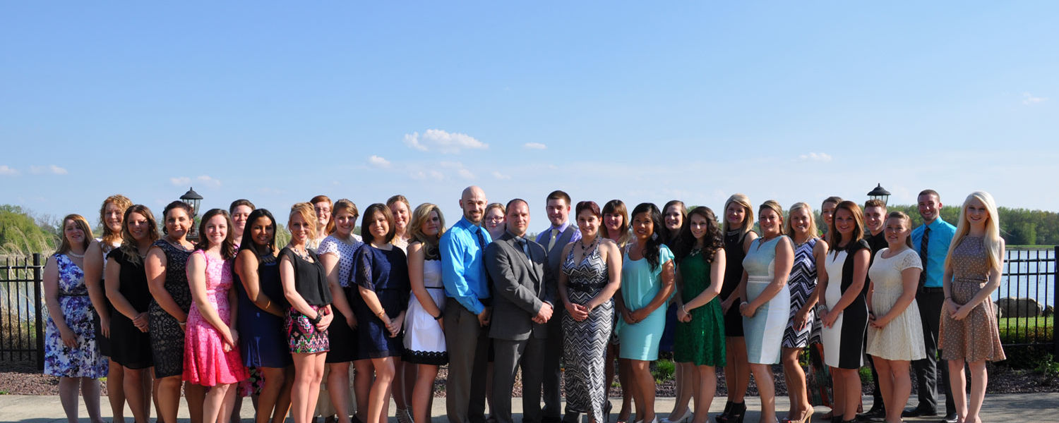 44 Kent State University at Salem students received their nursing pins and recited the nursing pledge.