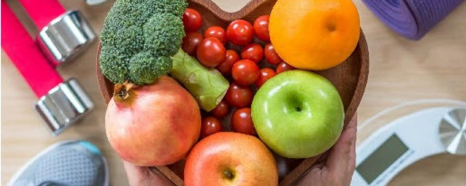 nutrition image of fruit and veggies