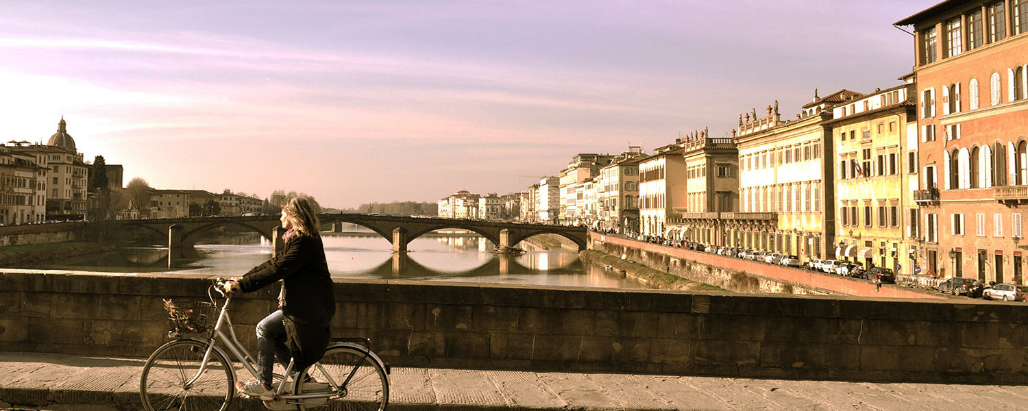 """Kent State student Lauren Caraotta said, """"This is my favorite picture from my trip! The Ponte Vecchio in Florence is such a dear spot to sit and visit."""" (Photo provided by Lauren Caraotta.)"""