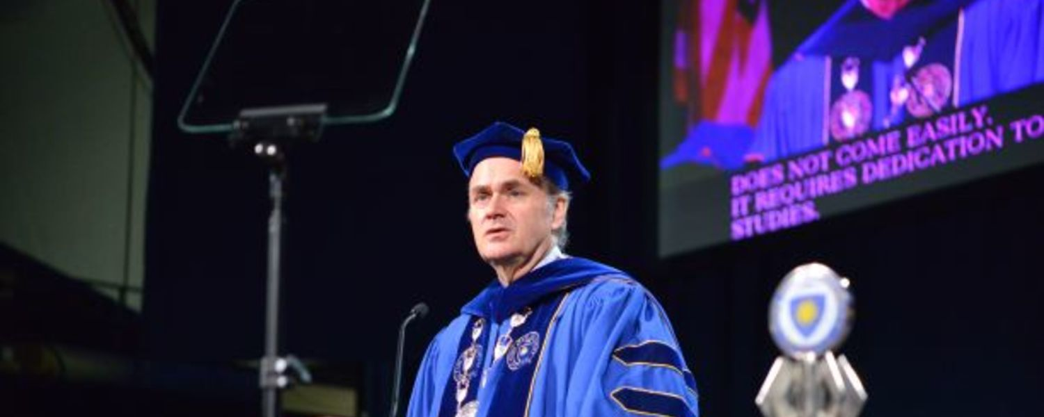 Kent State President Todd Diacon Speaks at Summer Commencement