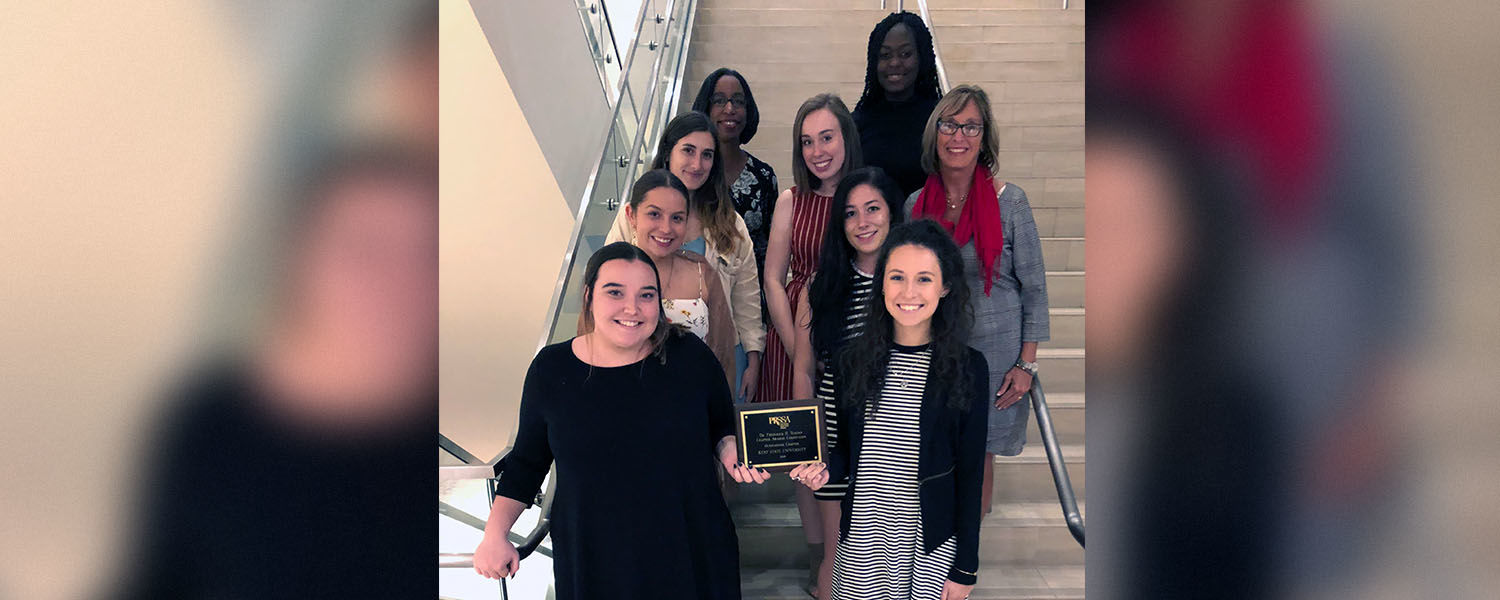 PRSSA members receive Teahan Award for Outstanding Chapter