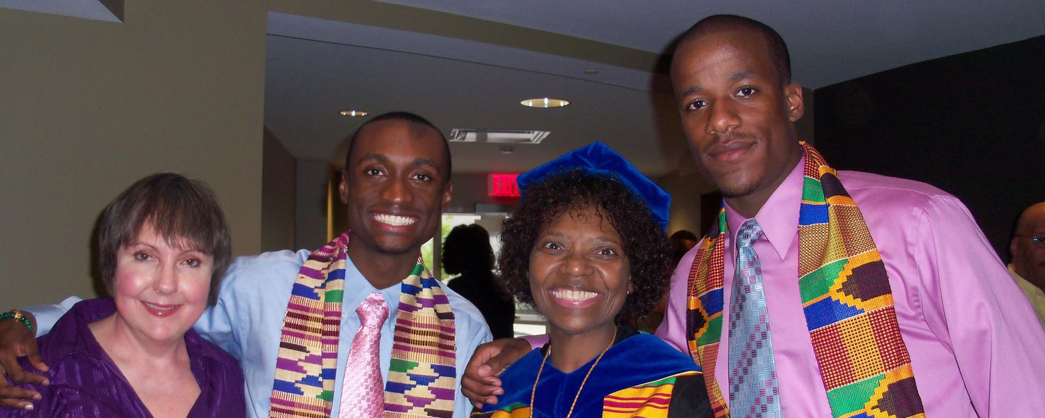 Rozell Duncan celebrated the successes of her students, including their graduations.