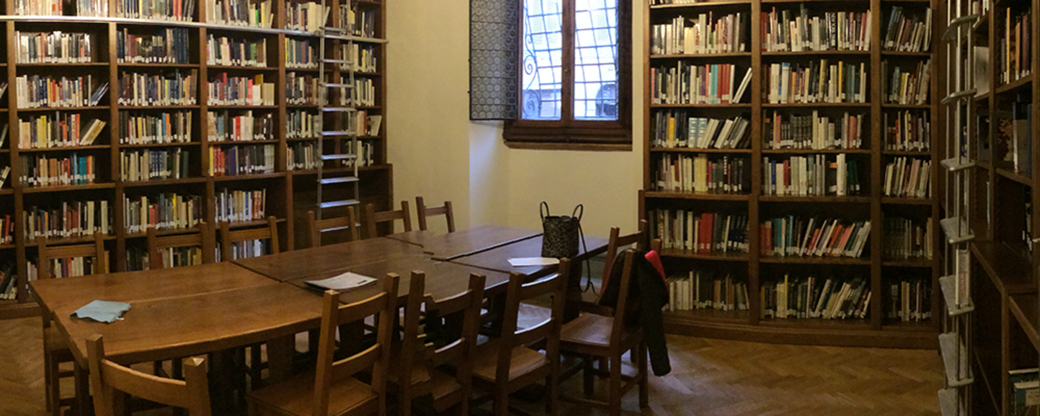 Richard Role reading room in Florence, Italy