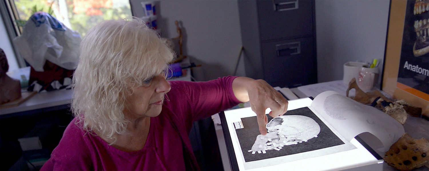 Linda Spurlock, Ph.D., assistant professor in the Department of Anthropology at Kent State, discusses her field of study, which includes forensic art, reconstructing fossils and more.