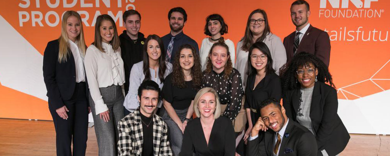 Semi-finalists for the 2019-2020 National Retail Federation's (NRF) Next Generation Scholarship Fund.