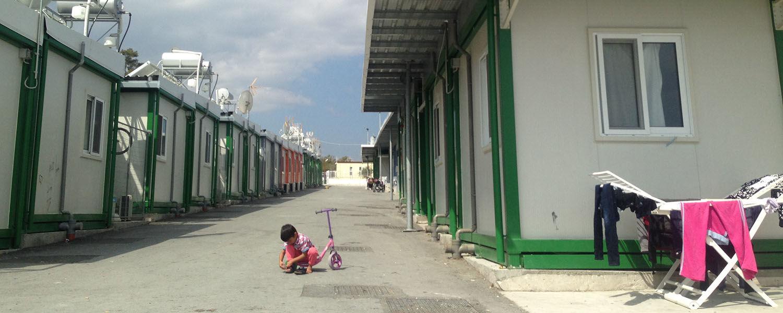 Kofinou Refugee Camp